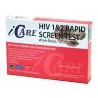 エイズ検査キット(HIV) iCARE(唾液採取)