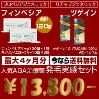 驚異の80%OFF!! 発毛業界の最強タッグが1日わずか83円!?
